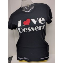 Tee Lady Love Dessert Black