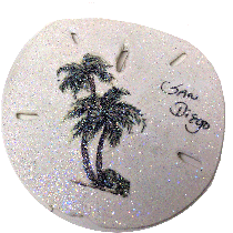 Sand Dollar Lighthouse Ornament