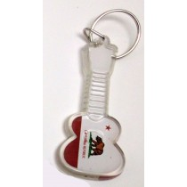 Keychain San Diego Guitar with Lucky Penny